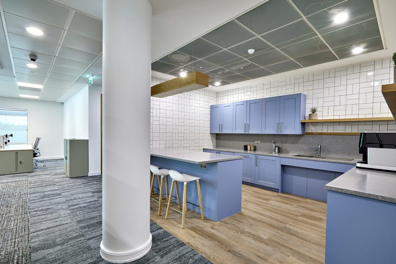 St James Place office tea point fit out