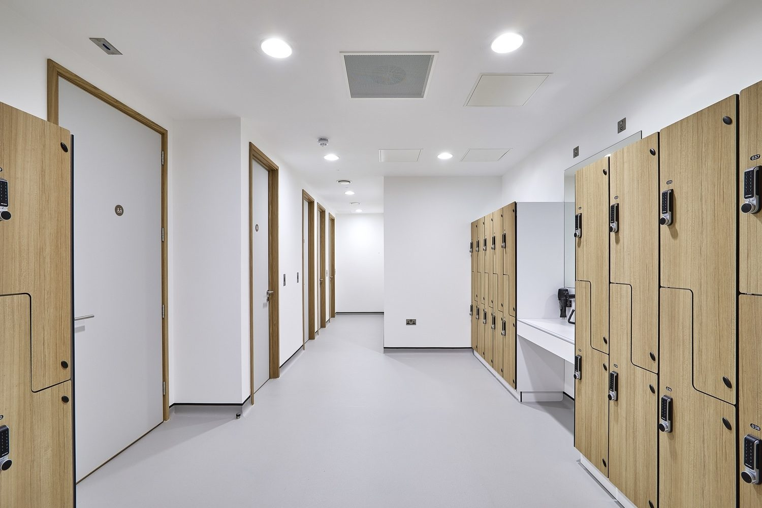 Westmorlande office shower facilities fit out