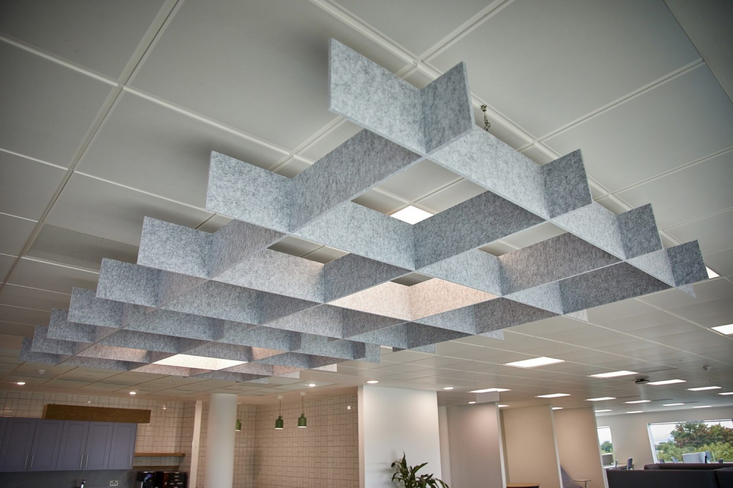 St James Place acoustics in office fit out