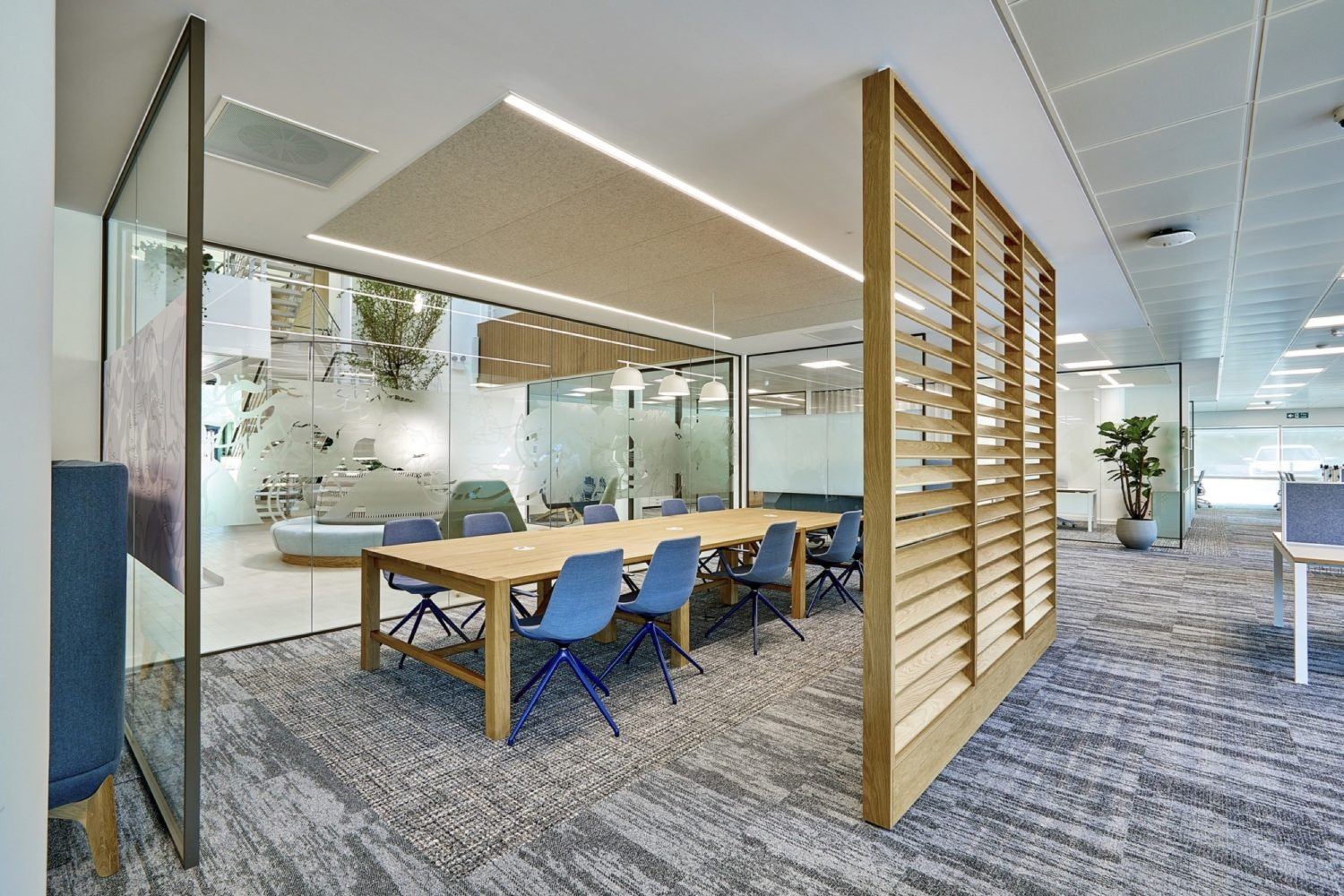 St James Place conference room fit out