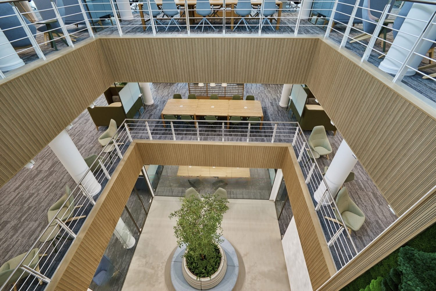 Westmoreland Bristol office atrium fit out