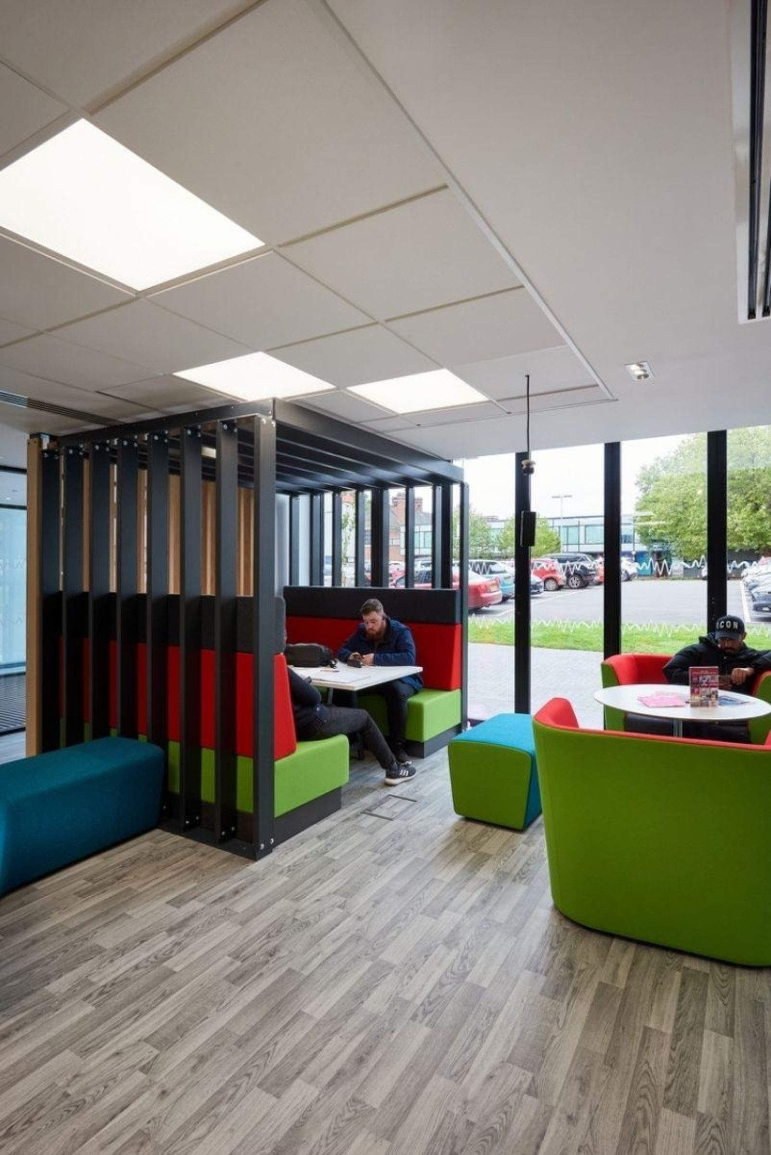 Staffordshire University workspace fit out