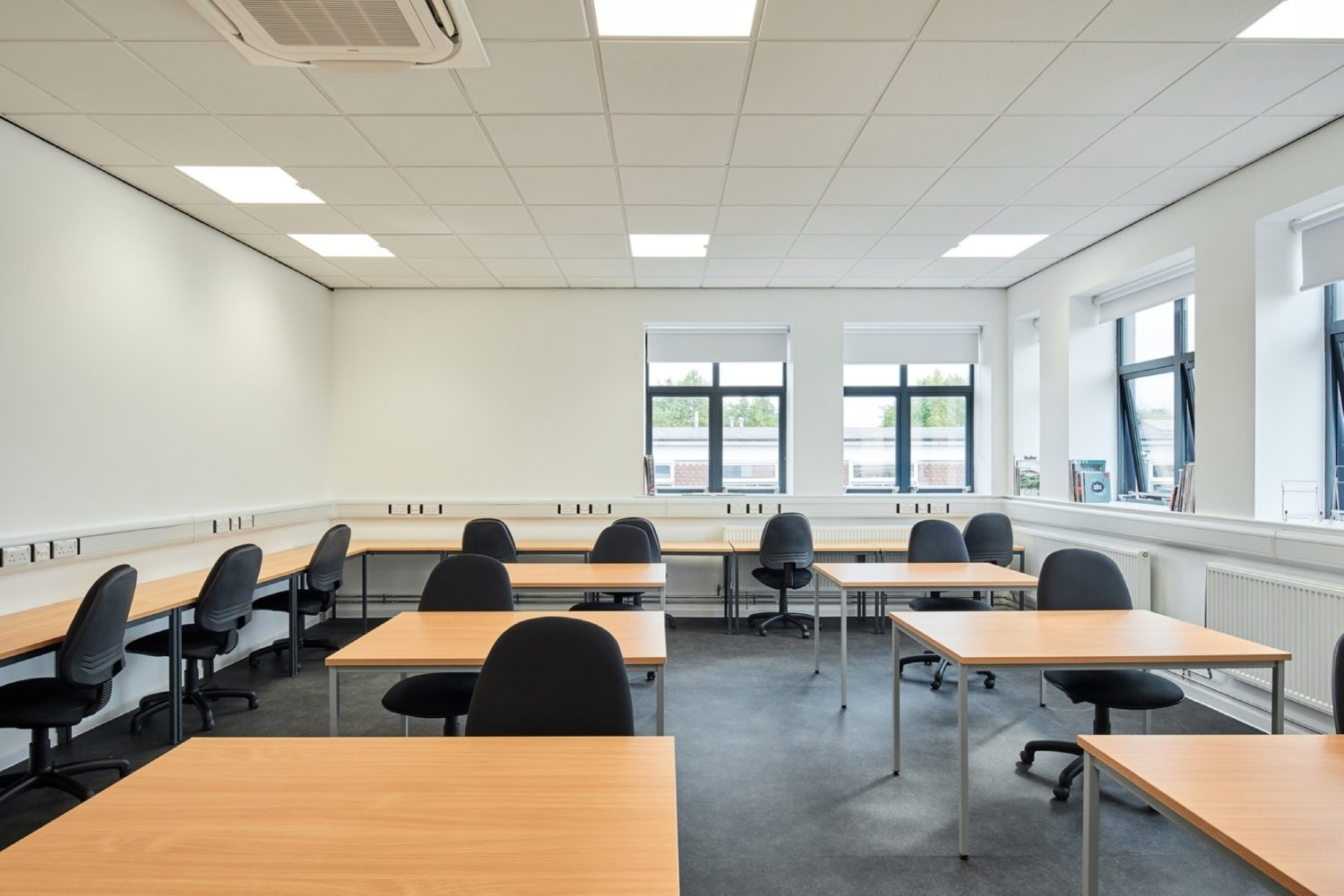 College fit out with LED lighting