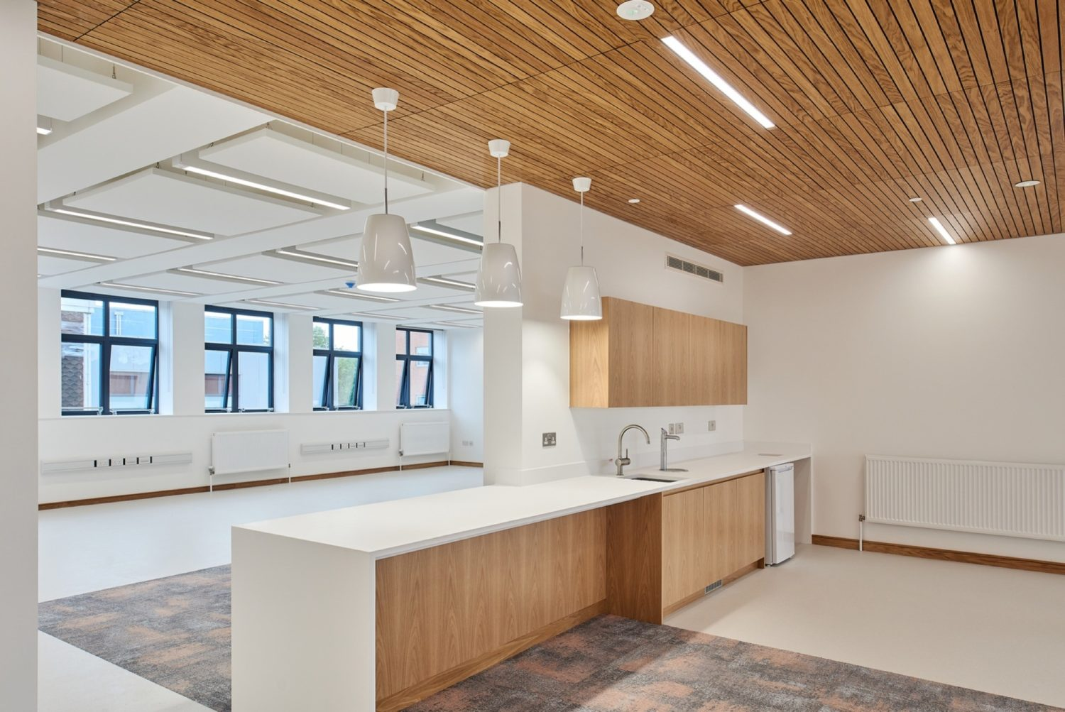 Lab in higher education fit out