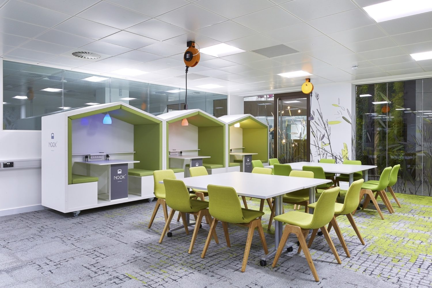 University of Bristol communal space fit out