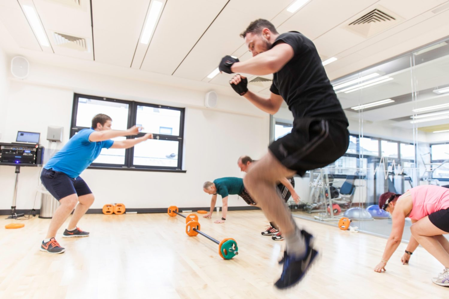 Vodafone office gym fit out