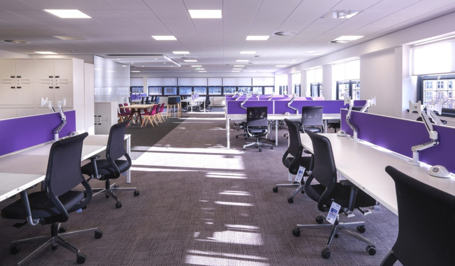 Vodafone open plan office fit out