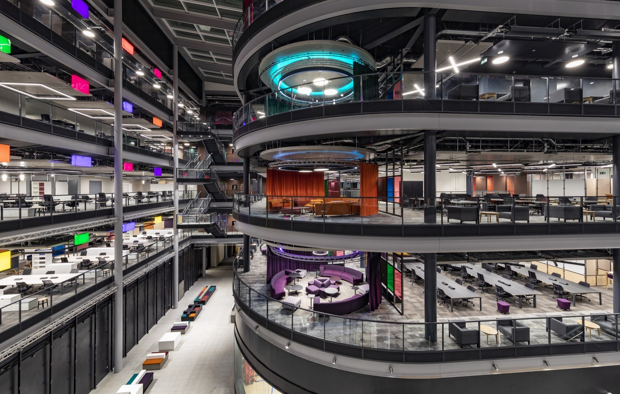 BBC studio office fit out