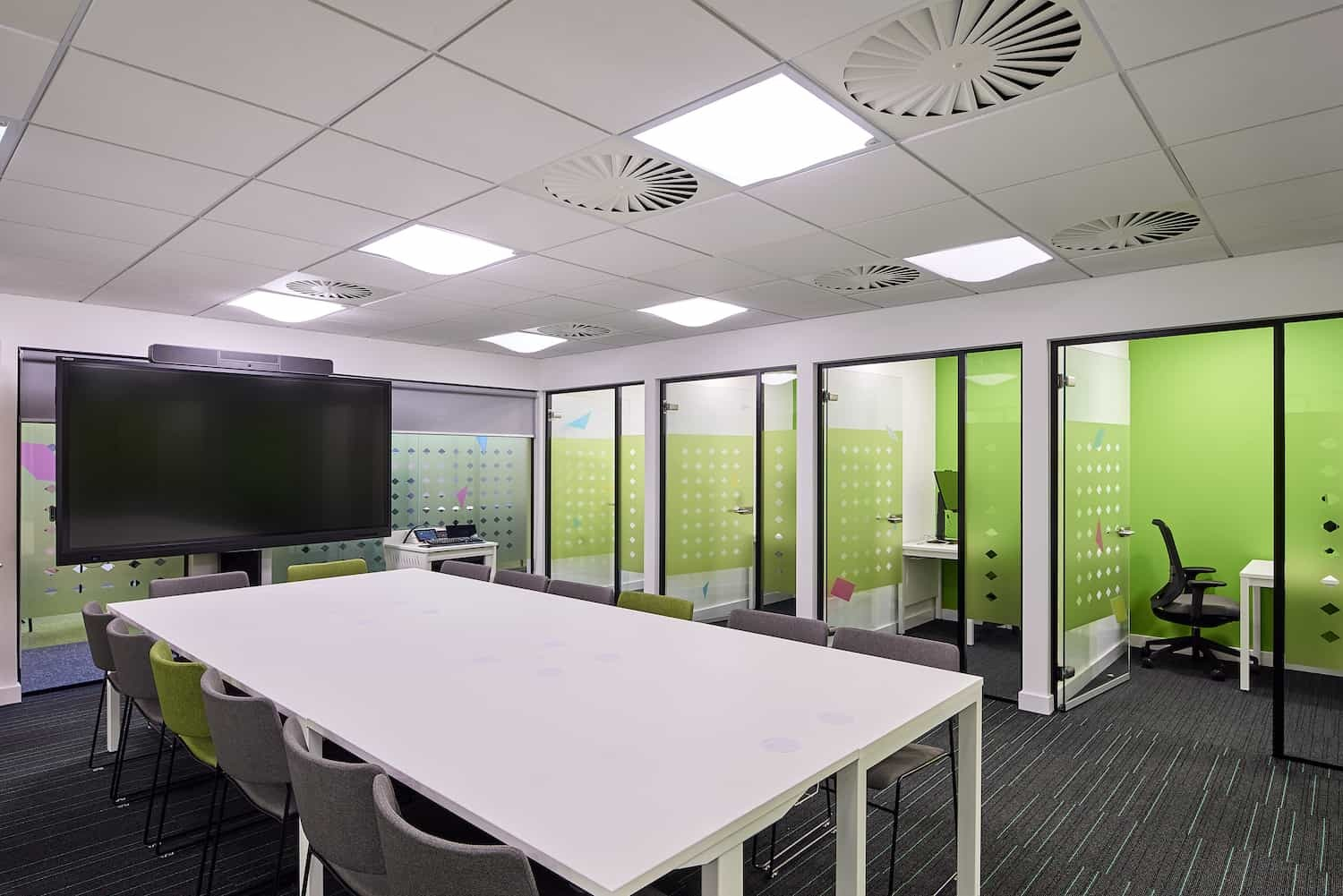 University fit out and refurbishment