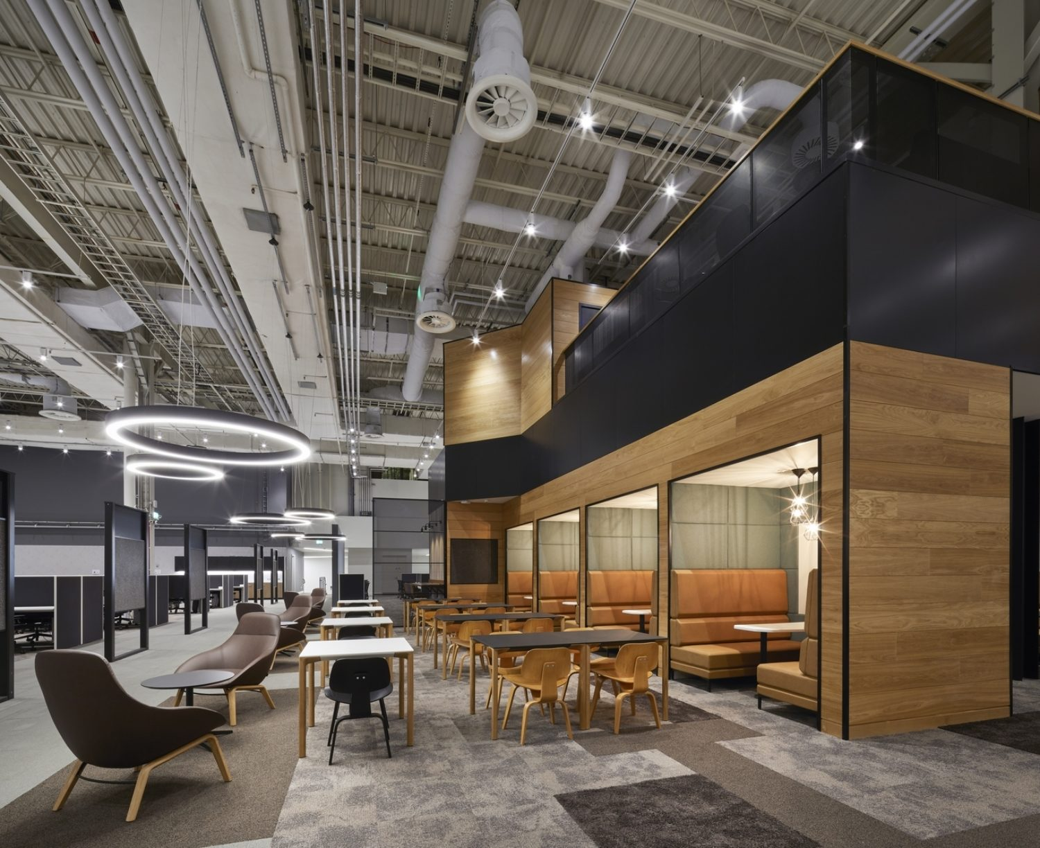 DXC warehouse to office conversion