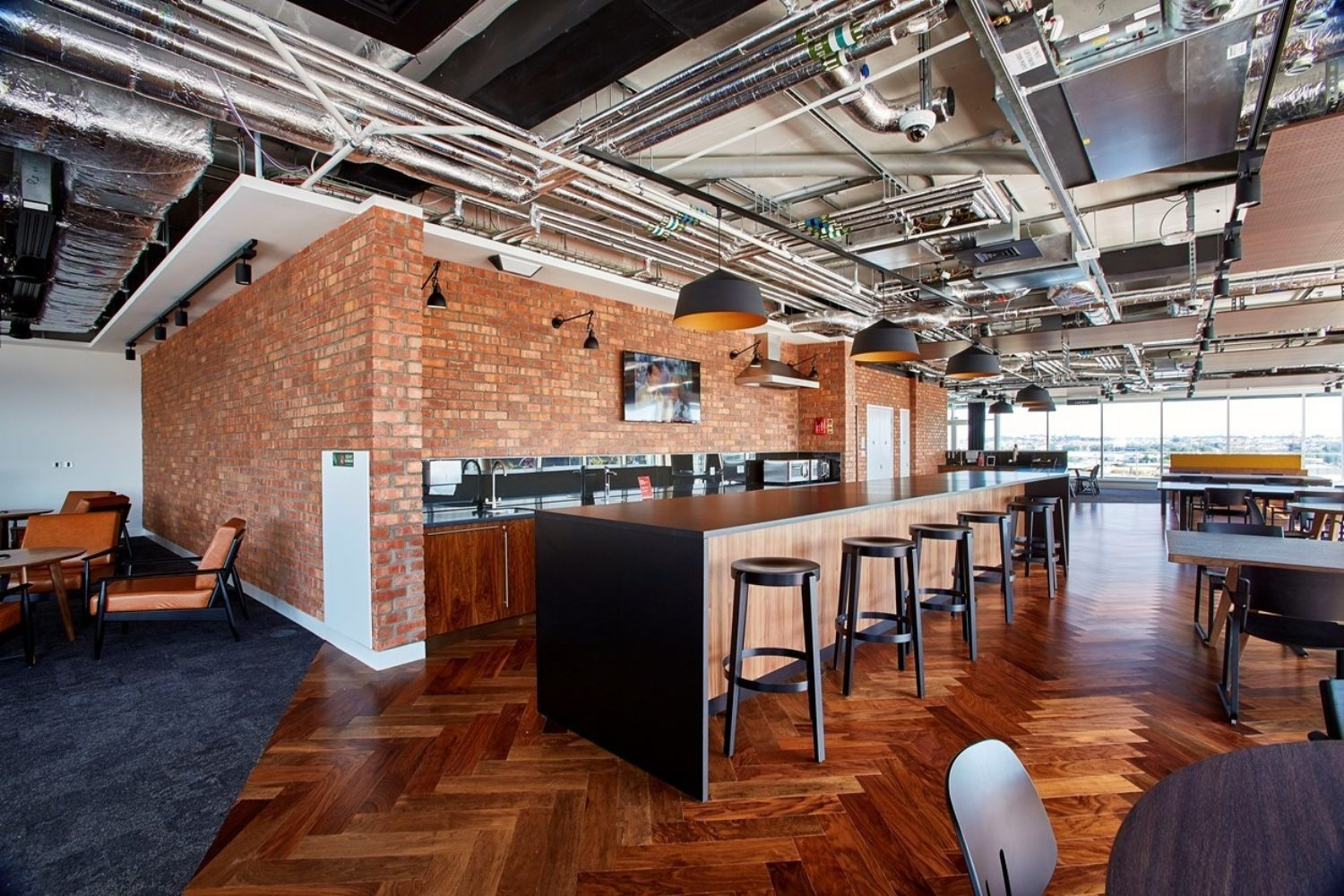 PwC bristol office kitchen fit out
