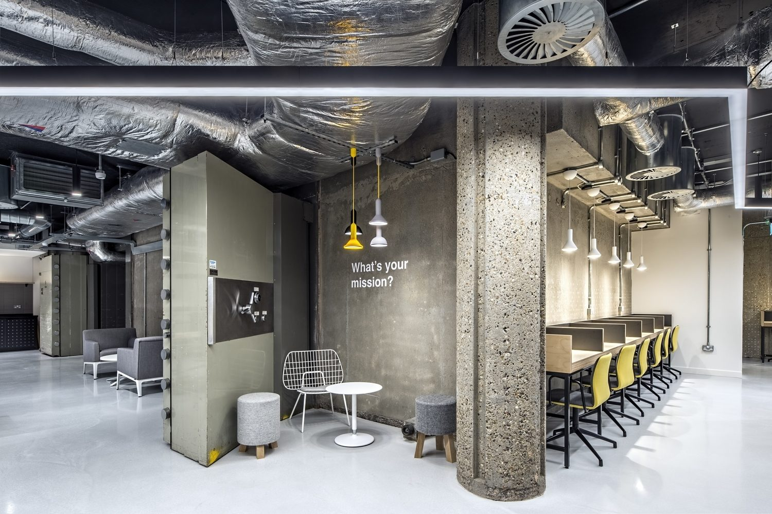 Rocketspace London office fit out